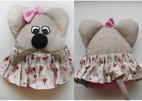Игрушка Мышь - девочка