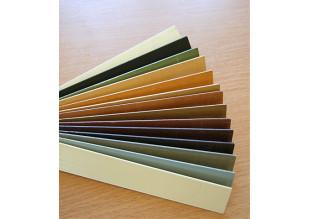 Предлагаются различные цвета для изготовления деревянных жалюзи