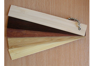 Горизонтальные бамбуковые