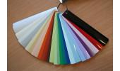 Большой выбор цветов для изготовления алюминиевых жалюзи