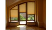 Плиссе - это возможность закрыть от солнца окна любой формы