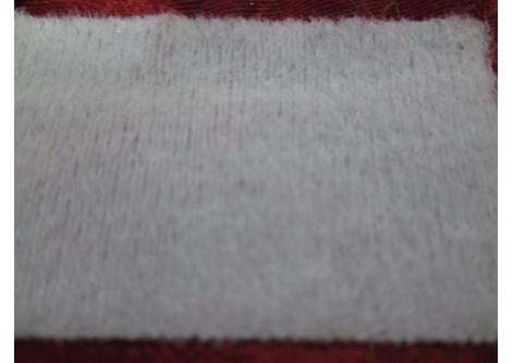 Лента с ворсом клеевая под утюг ( ширина 3 см)